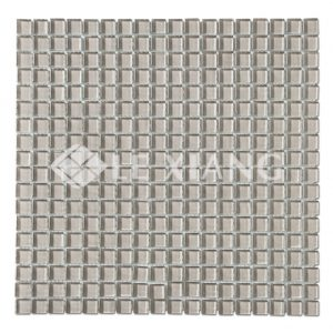 15mm Kitchen Backsplash Tiles Square Crystal Glass Mosaic Tile-4