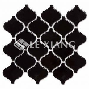 Arabesque Ceramic Kithen Backsplash Mosaic Tiles-1