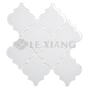 Arabesque Glass Mosaic Tile For Bathroom Wall And Floors-1