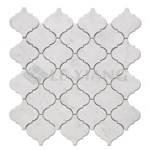 Arabesque Kitchen Backsplash Marble Mosaic Stone Tile-1