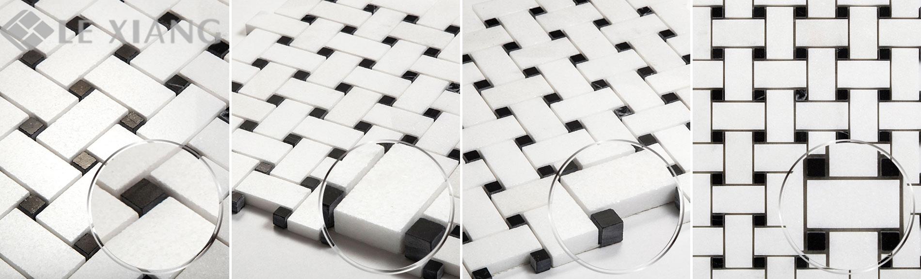 Basketweaveing-White-Thassos-Marble-Mosaic-For-Bothroom-Floors-5