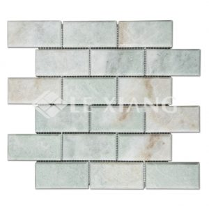 Beveled Brick Stone Tile Marble Mosaic Tile Flooring-2