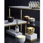 Bistratal Grey And White Marble Side Table-4