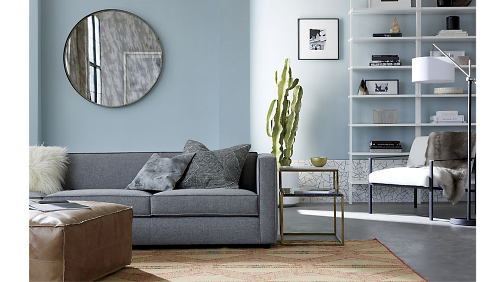 Bistratal Grey And White Marble Side Table 7