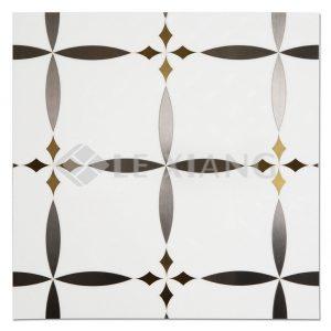 Boboli Water Jet Cut Marble Mosaic Tile For Bathroom Wall Backsplash-1