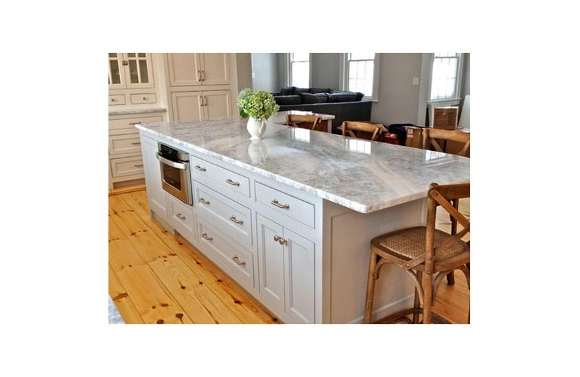 Brazil White Ice Berg Marble Bathroom and Kitchen Countertops 6
