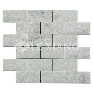 Brick Marble Mosaic Tile Ming Green For Kitchen Backsplash-1