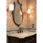 Brown Emperador Light Turkish Marble Wall Tiles For Living Room-3