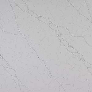 Calacatta Slender Quartz Kitchen Countertops-1