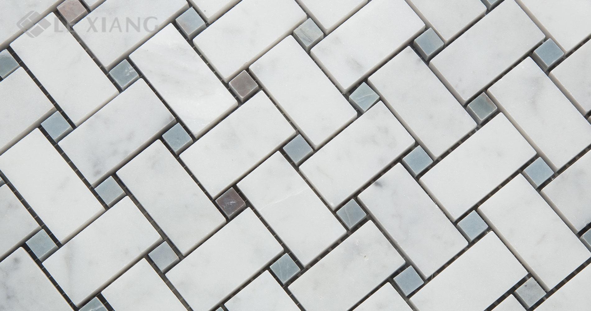 Carrara-Basketweave-Marble-Mosaic-Tile-For-Kitchen-Backsplash-5