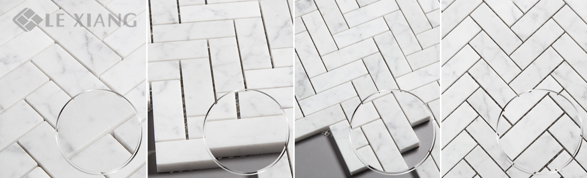Carrara-Herringbone-Stone-Mosaic-Tiles-For-Bathroom-Floors-4