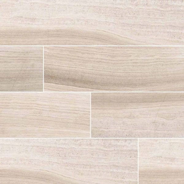 China Honed Gray Oak Marble Bathroom and Bedroom Flooring-1