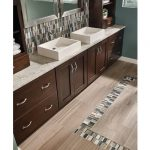 China Honed Gray Oak Marble Bathroom and Bedroom Flooring-3