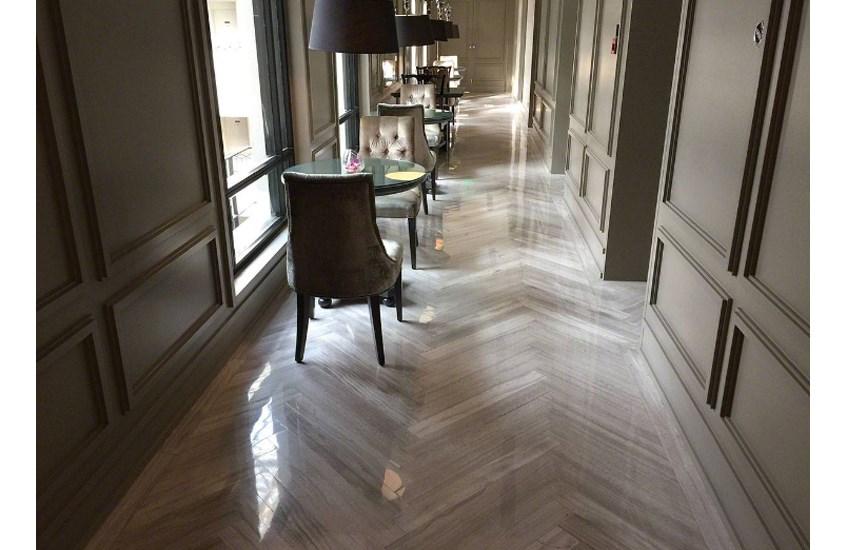 China White Oak Marble Polishing Bathroom Walls And Floors