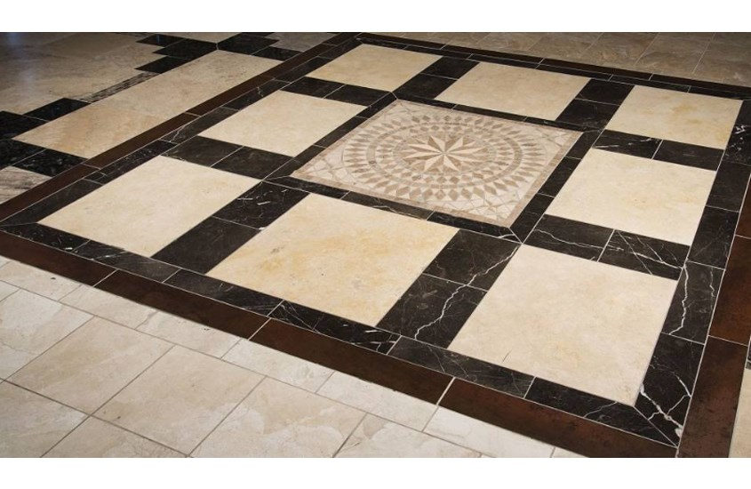 Deep Laurent Brown China Marble Commercial Flooring 5