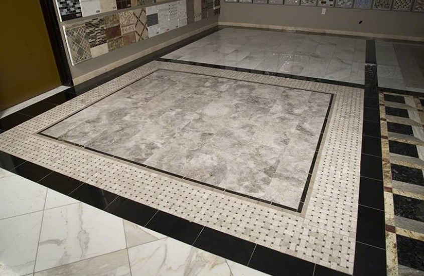 Deep Laurent Brown China Marble Commercial Flooring 6