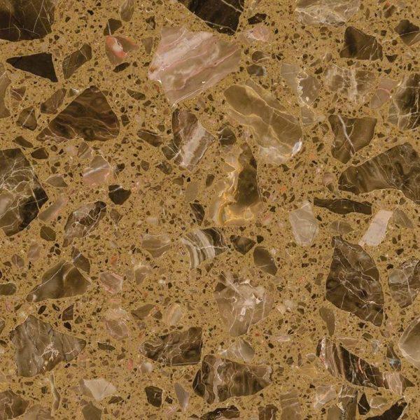 Emperador Dark Spanish Marble Bathroom Floor and Wall Tiles-1