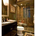 Emperador Dark Spanish Marble Bathroom Floor and Wall Tiles-4