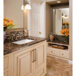 Emperador Dark Spanish Marble Bathroom Floor and Wall Tiles-5