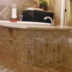 Emperador Dark Spanish Marble Bathroom Floor and Wall Tiles-8