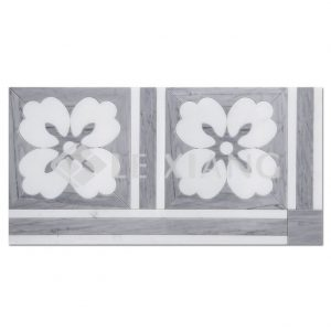 Gardenia Water Jet Cut Mosaic Tiles Bathroom Wall Tile-1