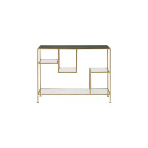 Green Marble Tops Console Table-5