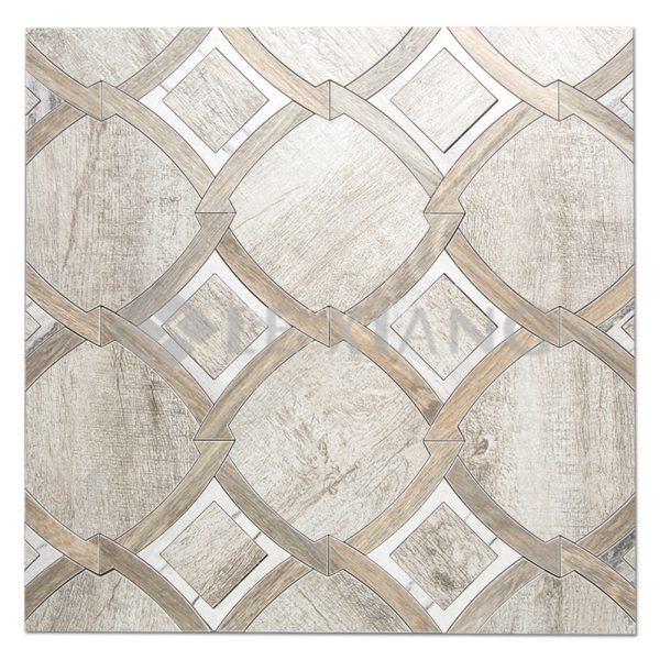 Inception Kitchen Backsplash Water Jet Cut Stone Mosaic Tile-1