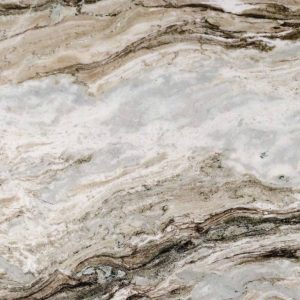 Indian Fantasy Brown Marble Kitchen Vanity Tops-1