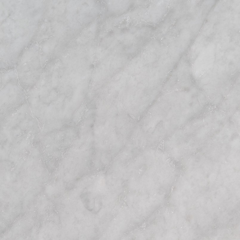 Italian Carrara White Marble Polished Bathroom Flooring