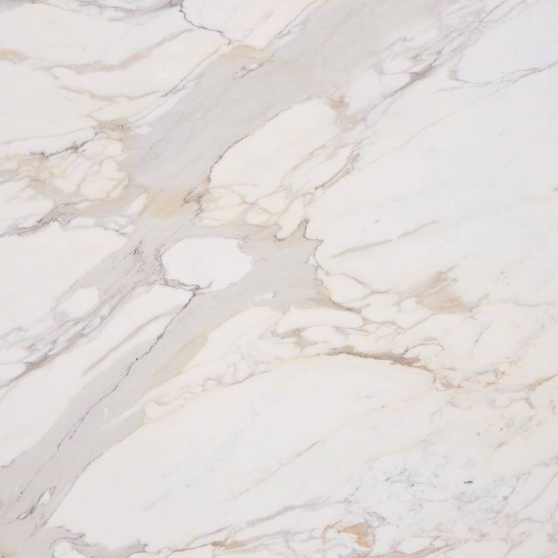 Italian White Gold Calacatta Marble Living Room Floors