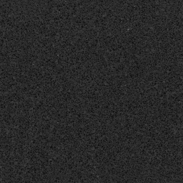 Jet Black Quartz Countertops SY-BK001-1
