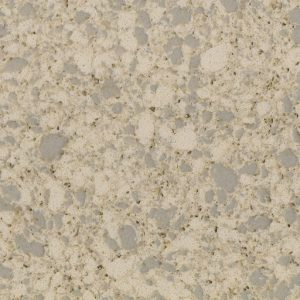 LXSQ6205 Big Particles Beige Quartz Stone Kitchen Countertops