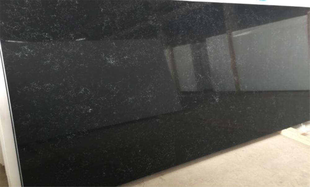 LXSQ6431-Vanilla-Quartz-Stone-Kitchen-Countertops-1