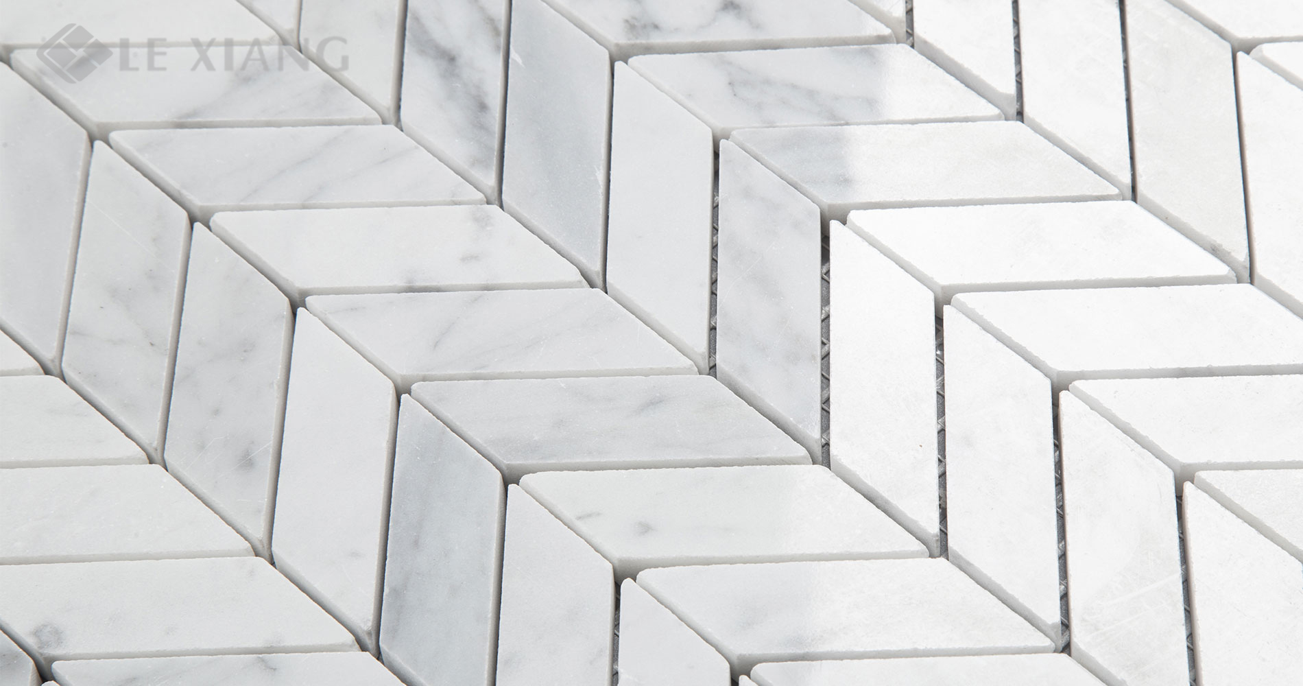 Marble Chevron Mosaic Tile For Kitchen Backsplash And Bathroom Wall ...