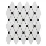 Marble Long Octagon Mosaic Tile Kitchen Backsplash-2