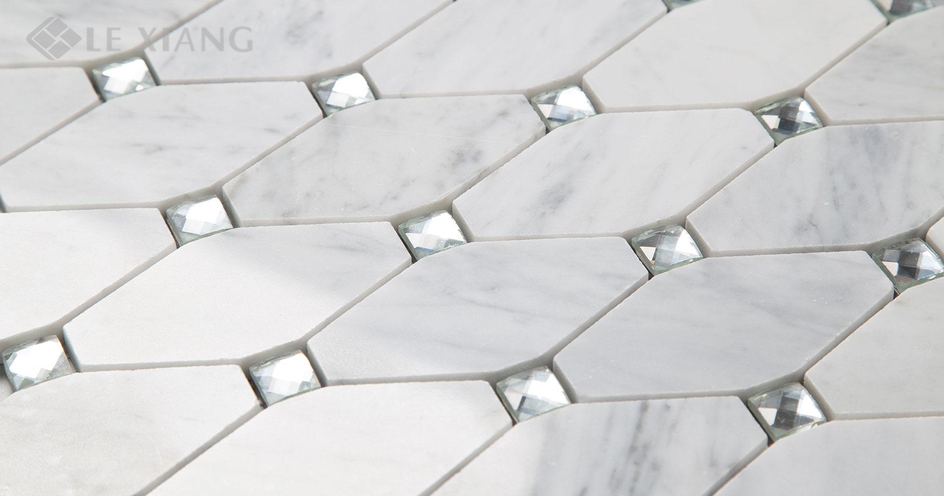 Marble-Long-Octagon-Mosaic-Tile-Kitchen-Backsplash-6