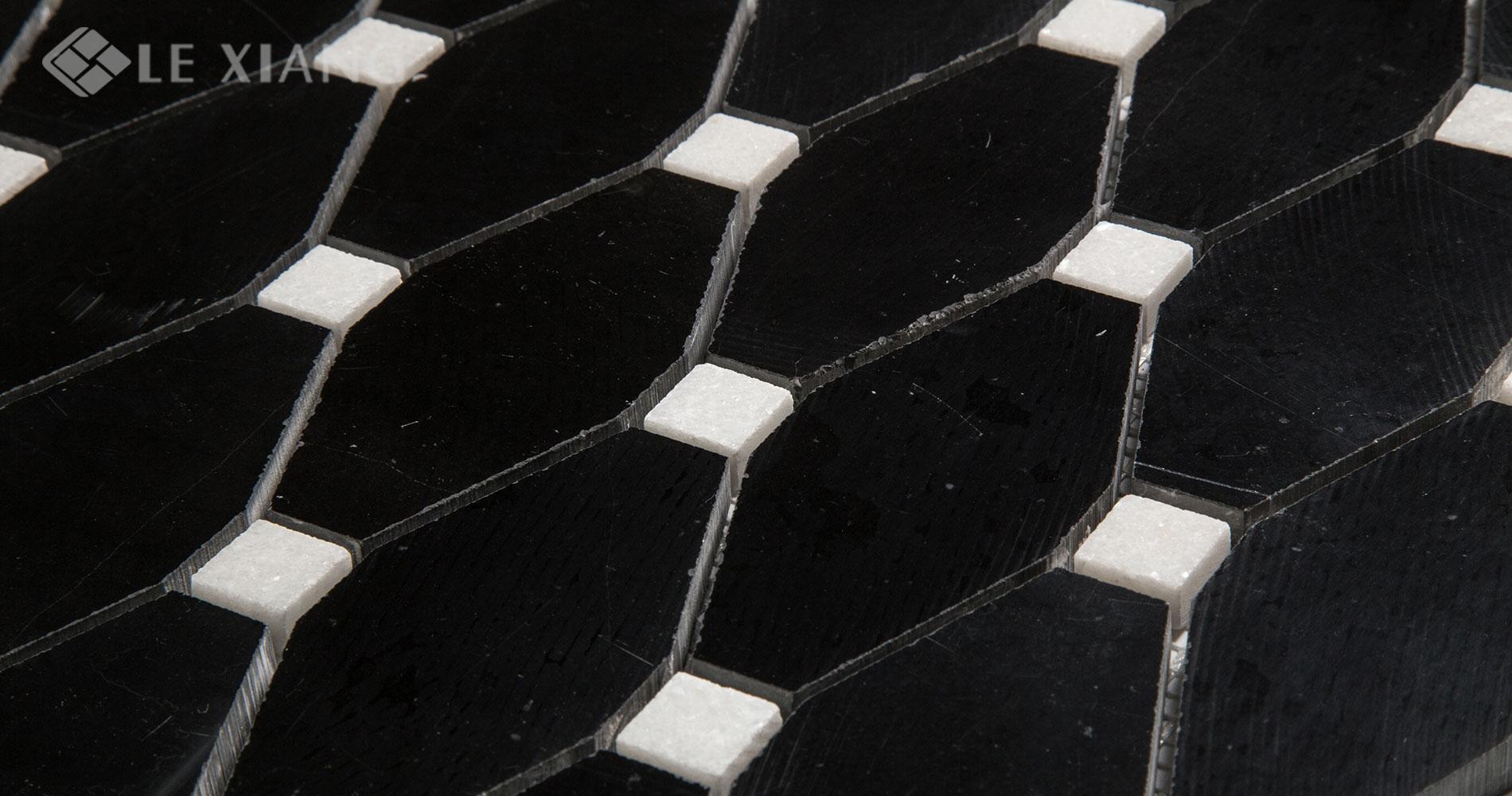 Marble-Long-Octagon-Mosaic-Tile-Kitchen-Backsplash-9