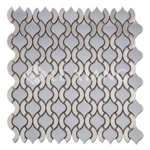 Metal Arabesque Mosaic Tile-1