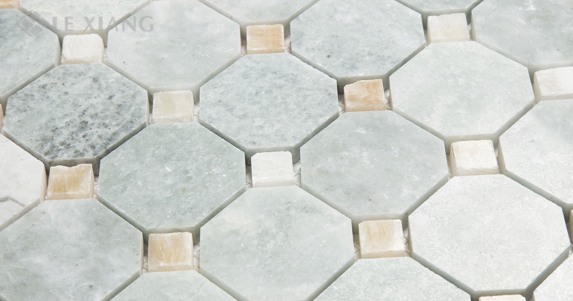 Ming-Green-Marble-Octagon-Mosaic-Tile-For-Bathroom-Floors-4