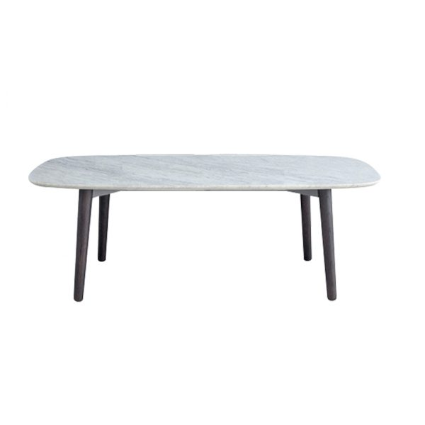 Modern White Marble Dining Table-6