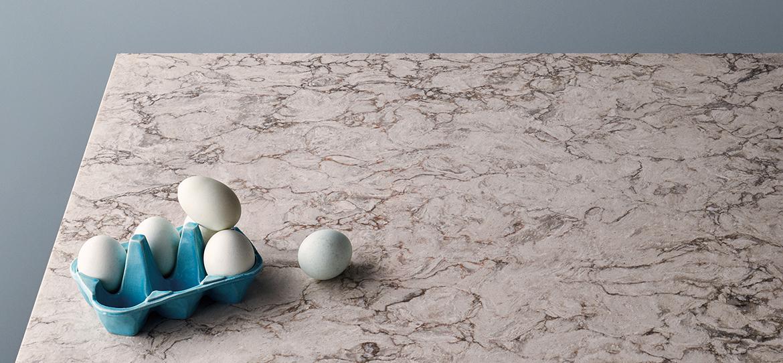 SY-BK005 Moorland Fog Best Quartz Bathroom Countertops