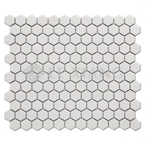 Porcelain Hexagon Mosaic Tile For Bathroom Wall Flooring Tiles-1