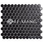 Porcelain Hexagon Mosaic Tile For Bathroom Wall Flooring Tiles-3
