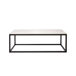 Rectangle Marble Top Coffee Table-1