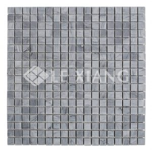 Square Marble Latin Gray Mosaic Tile Ktichen Backsplash-2