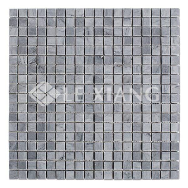 Square Marble Latin Gray Mosaic Tile Ktichen Backsplash-2
