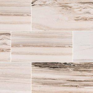 Turkish Light Grey Palisandro Marble Polishing Flooring