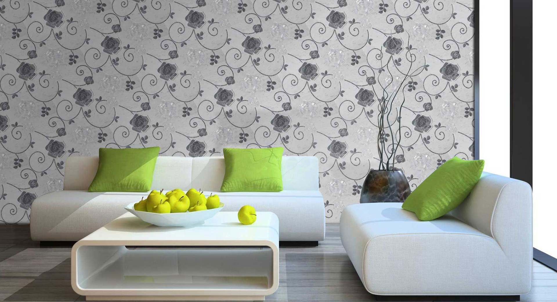 Beautiful wall painting designs for living room as artistic styl