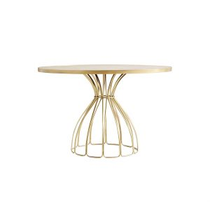 Medium Round Marble Dining Table-6