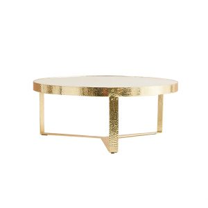 White Coffee Table Marble Tabletop-8